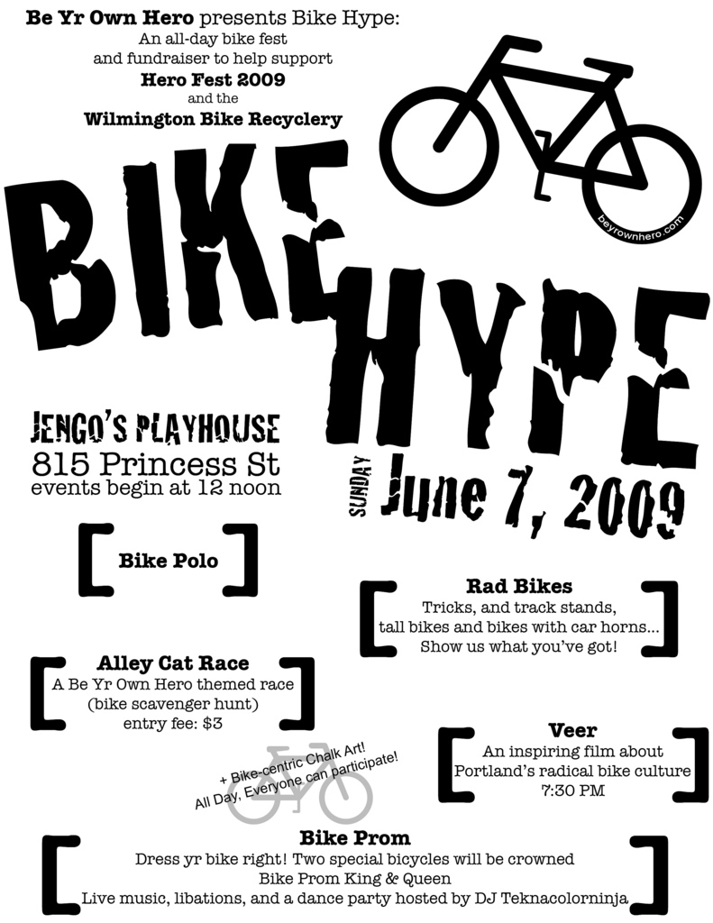bike hype wilmington nc flyer